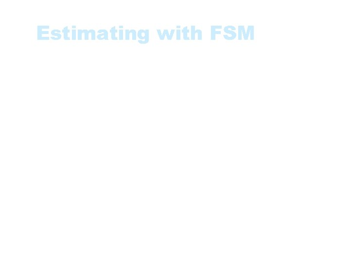 Estimating with FSM • Cost effectivness: • Size of Software System / Project Cost