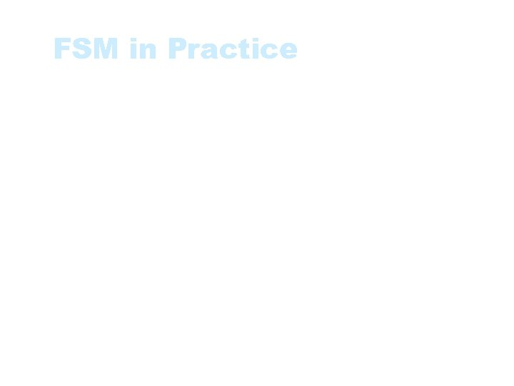 FSM in Practice • Measure project or organisational performance • Estimate the resources -