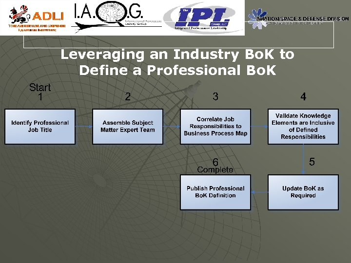 Leveraging an Industry Bo. K to Define a Professional Bo. K