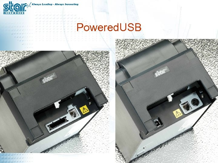 Powered. USB