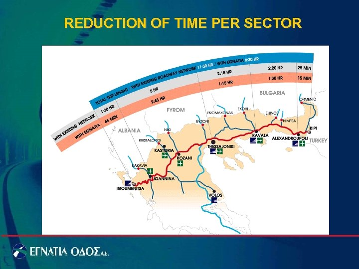 REDUCTION OF TIME PER SECTOR
