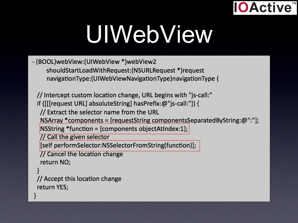 UIWeb. View