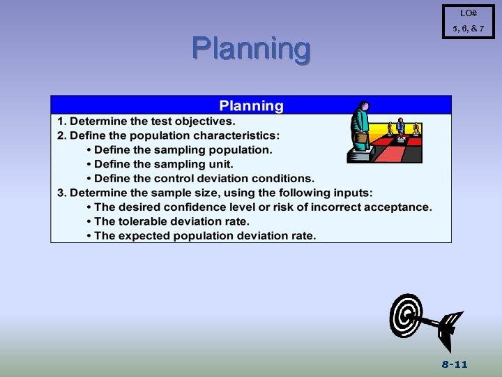 LO# Planning 5, 6, & 7 8 -11