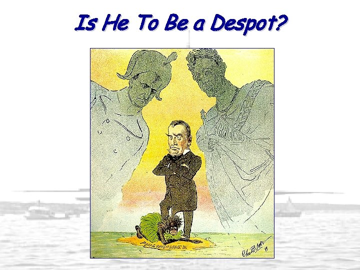 Is He To Be a Despot?