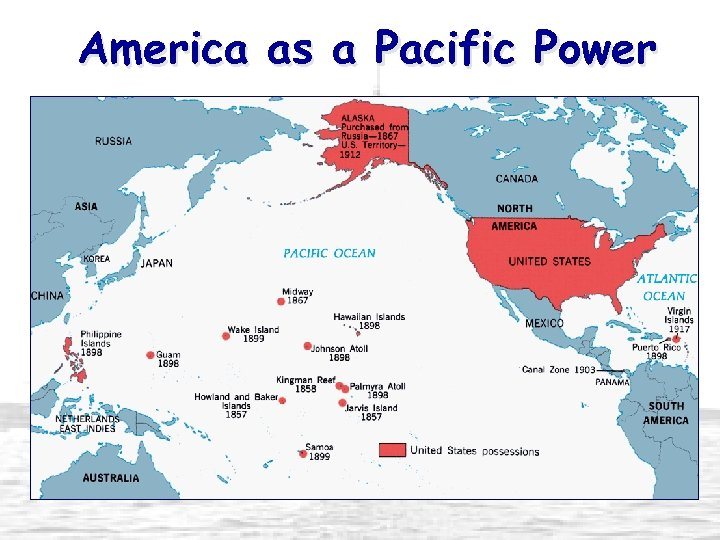America as a Pacific Power