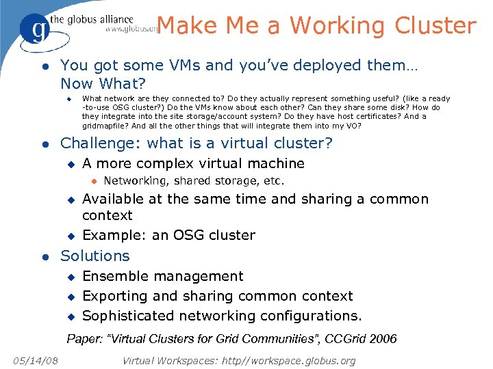 Make Me a Working Cluster l You got some VMs and you've deployed them…