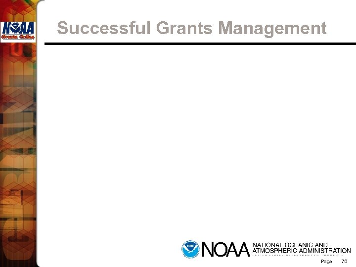 Successful Grants Management Page 76