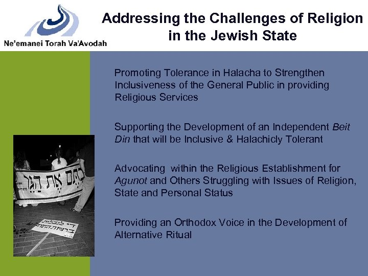 Addressing the Challenges of Religion in the Jewish State Promoting Tolerance in Halacha to