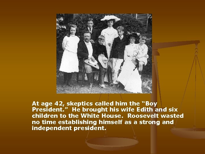 """At age 42, skeptics called him the """"Boy President. """" He brought his"""