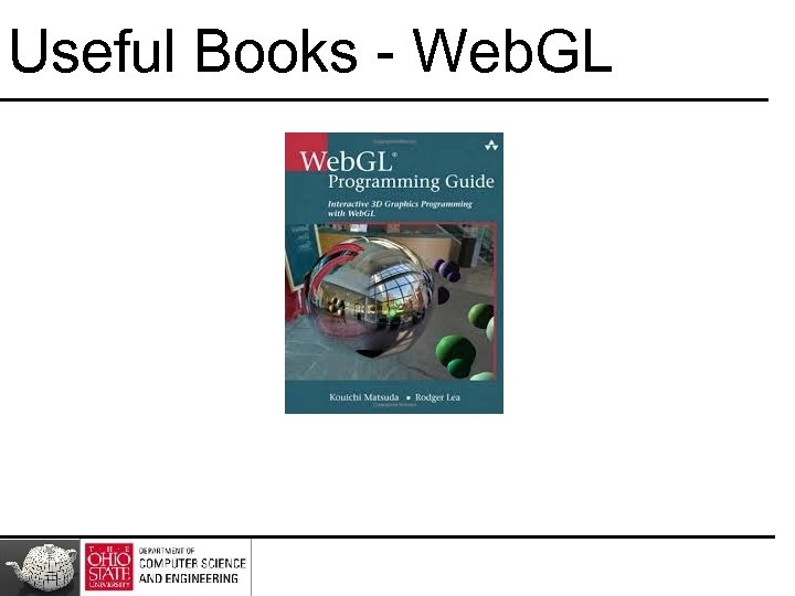 Useful Books - Web. GL