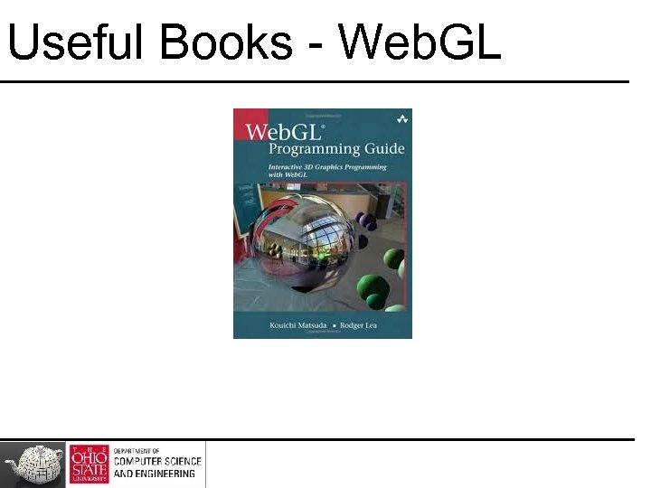 Useful Books - Web. GL