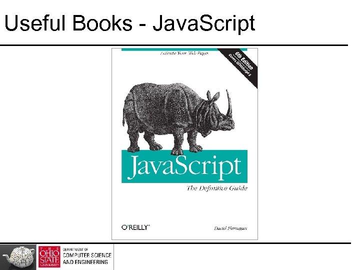 Useful Books - Java. Script