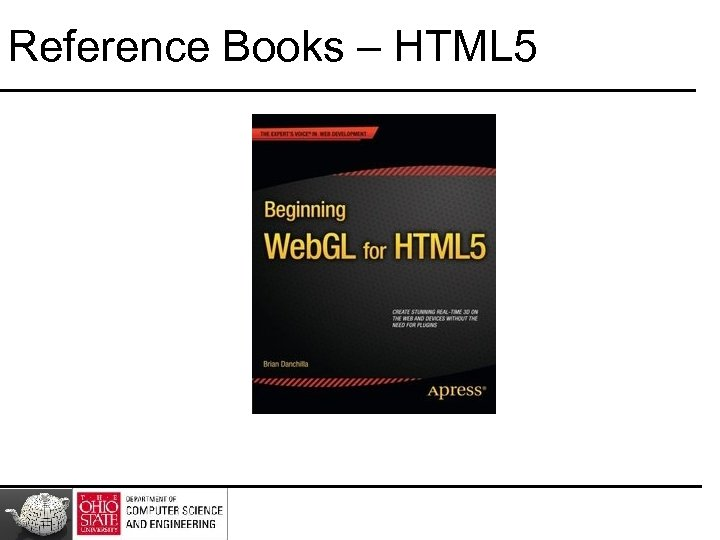 Reference Books – HTML 5