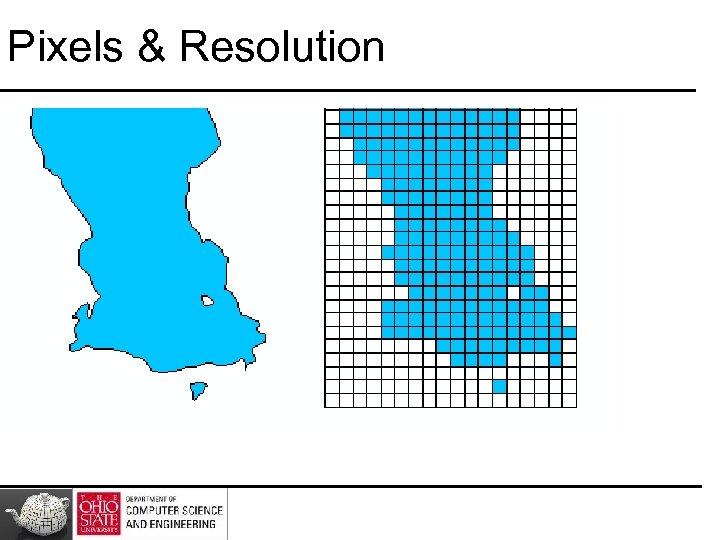 Pixels & Resolution