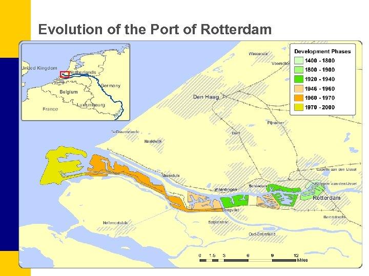 Evolution of the Port of Rotterdam