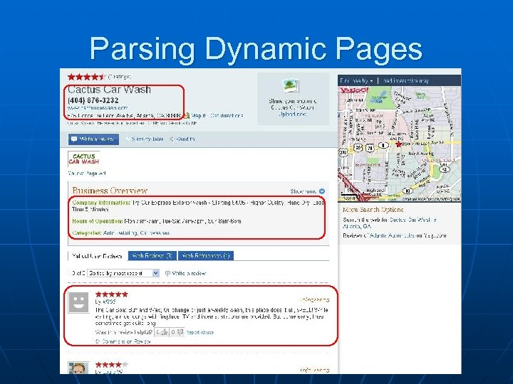 Parsing Dynamic Pages