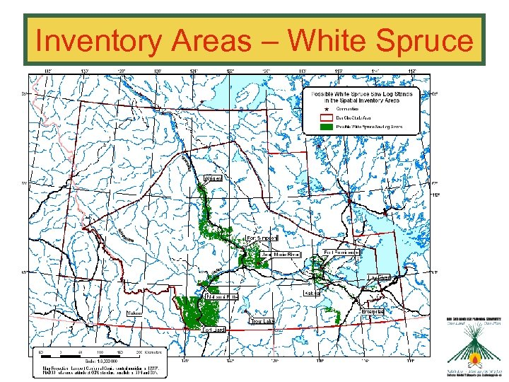 Inventory Areas – White Spruce