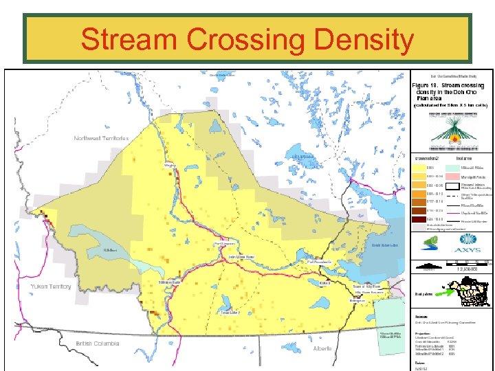 Stream Crossing Density