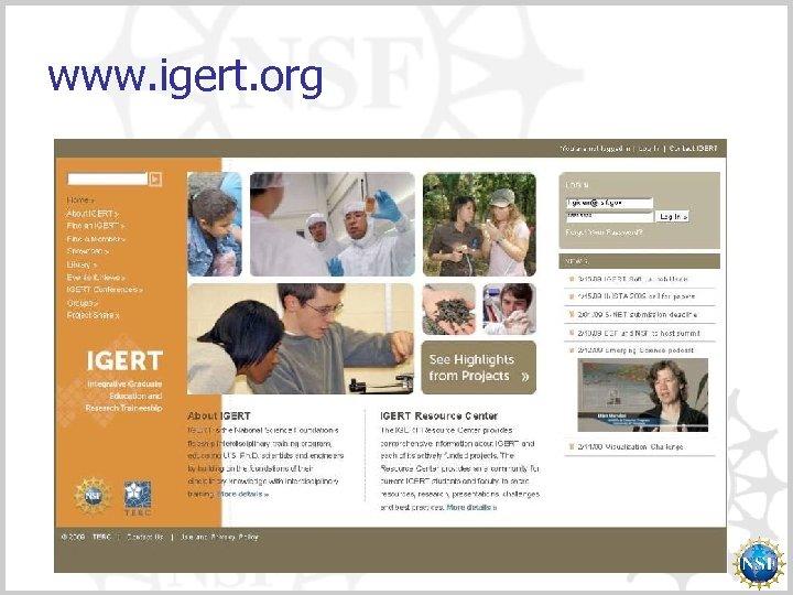 www. igert. org