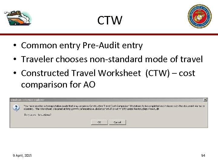 Dts Cost Comparison Worksheet