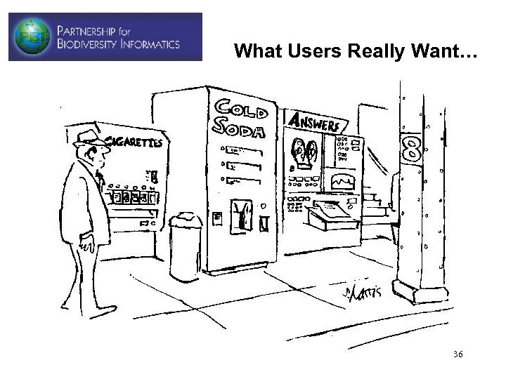 What Users Really Want… 36