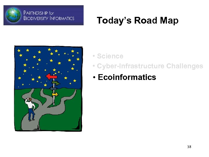 Today's Road Map • Science • Cyber-Infrastructure Challenges • Ecoinformatics 38