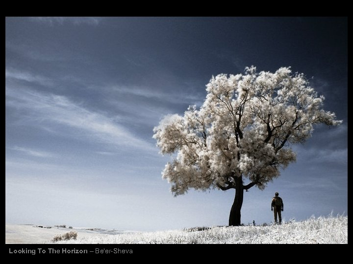 Looking To The Horizon – Be'er-Sheva