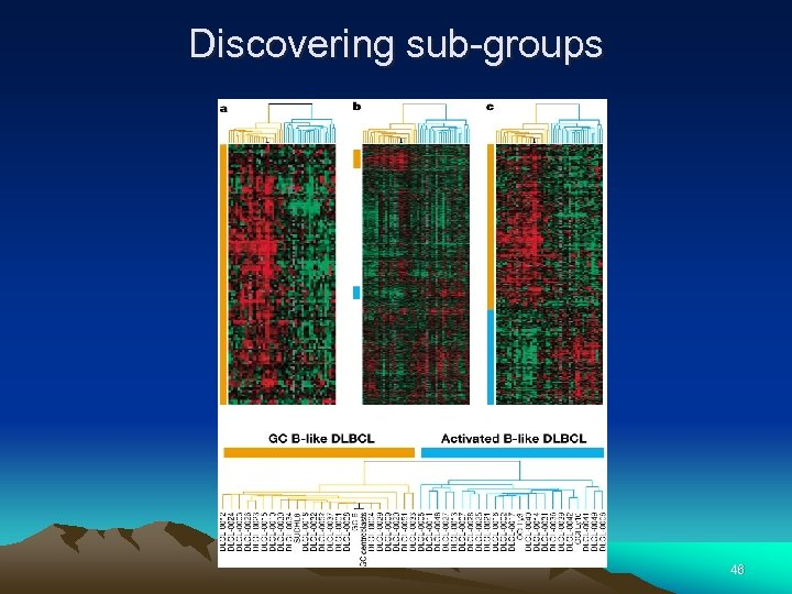Discovering sub-groups 46
