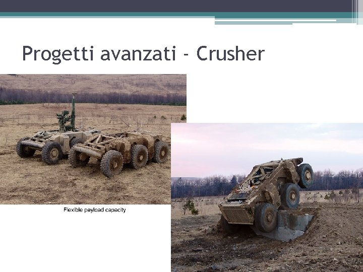 Progetti avanzati - Crusher