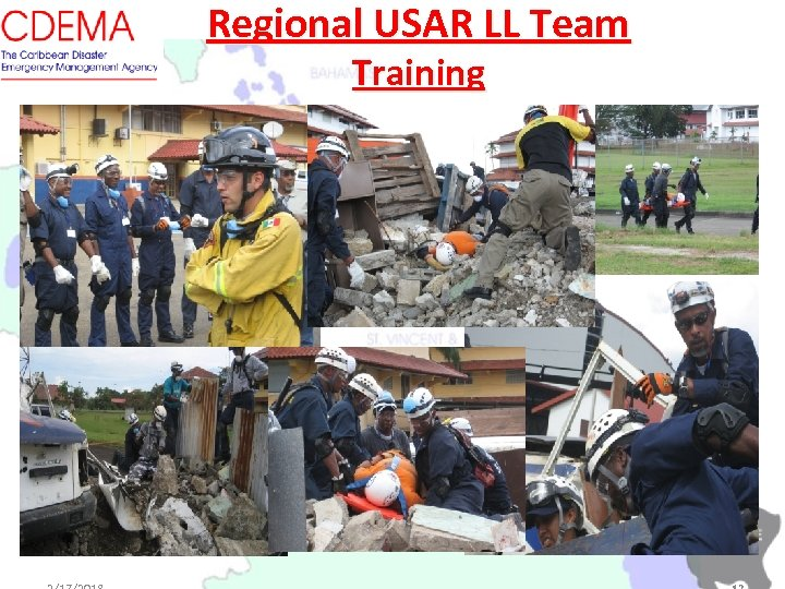 Regional USAR LL Team Training
