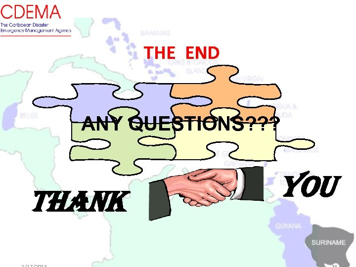 THE END ANY QUESTIONS? ? ? THANK YOU
