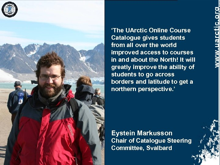 'The UArctic Online Course Catalogue gives students from all over the world improved access