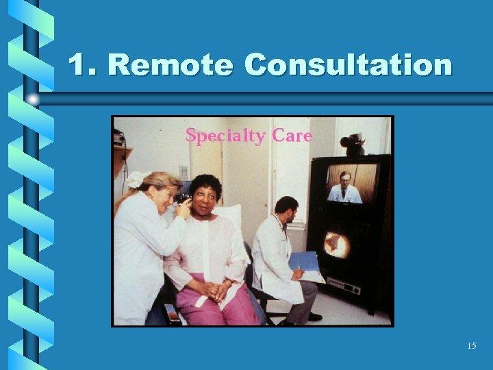 1. Remote Consultation 15