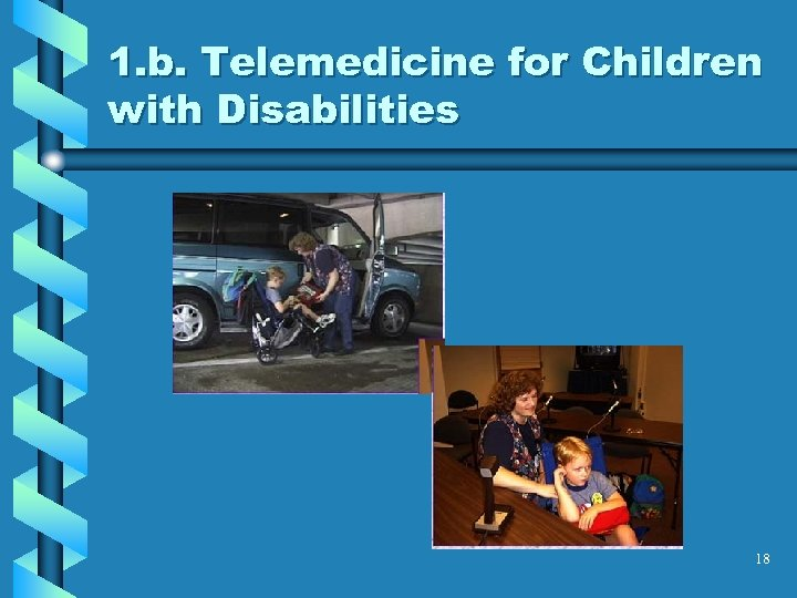 1. b. Telemedicine for Children with Disabilities 18