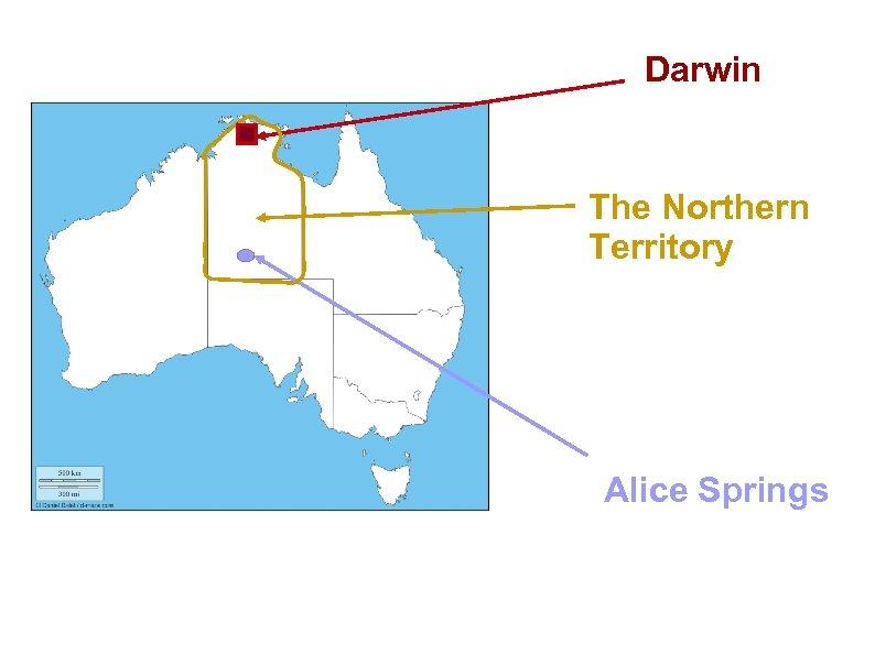 Darwin The Northern Territory Alice Springs