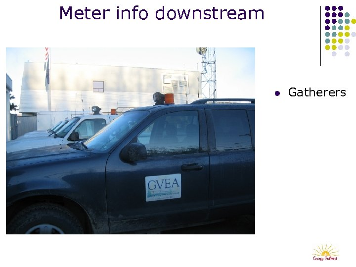 Meter info downstream l Gatherers