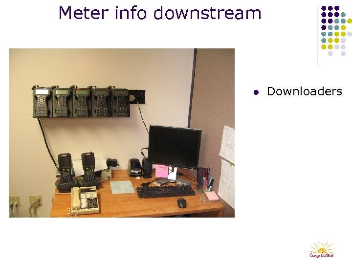 Meter info downstream l Downloaders
