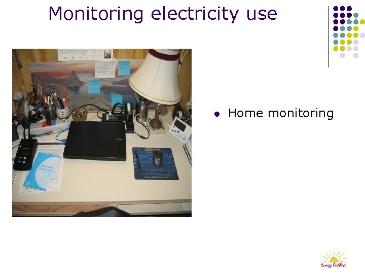 Monitoring electricity use l Home monitoring