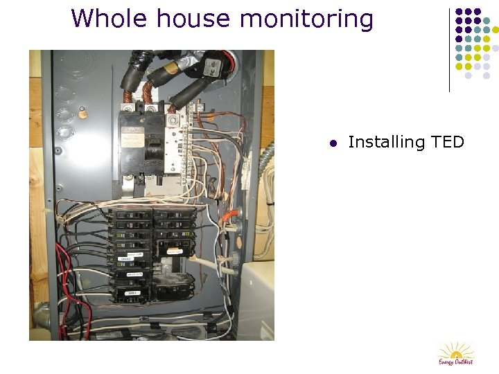 Whole house monitoring l Installing TED
