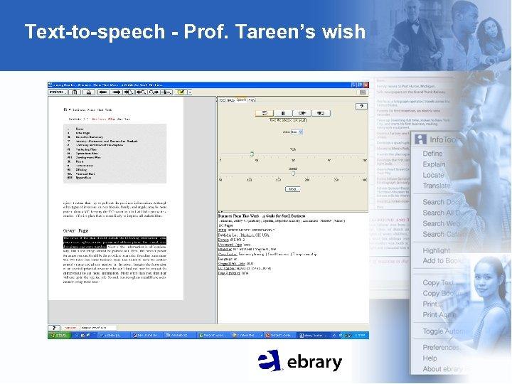 Text-to-speech - Prof. Tareen's wish