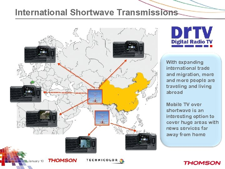 International Shortwave Transmissions With expanding international trade and migration, more and more people are
