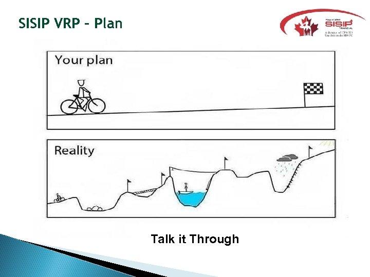 SISIP VRP - Plan Talk it Through