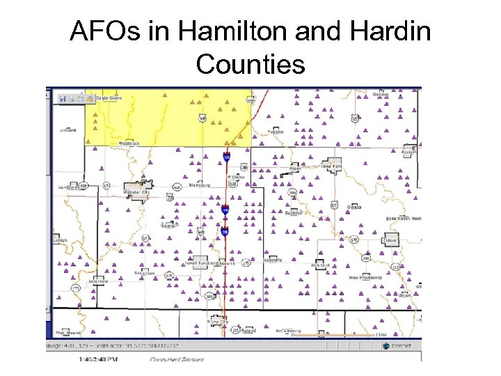 AFOs in Hamilton and Hardin Counties