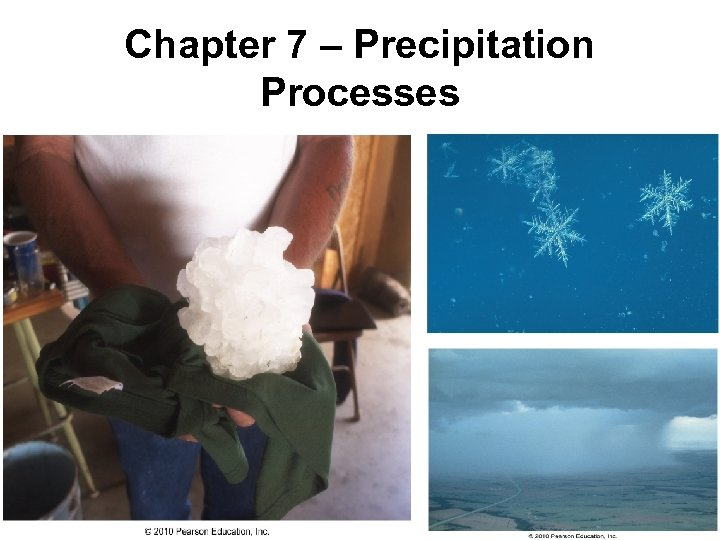 Chapter 7 – Precipitation Processes