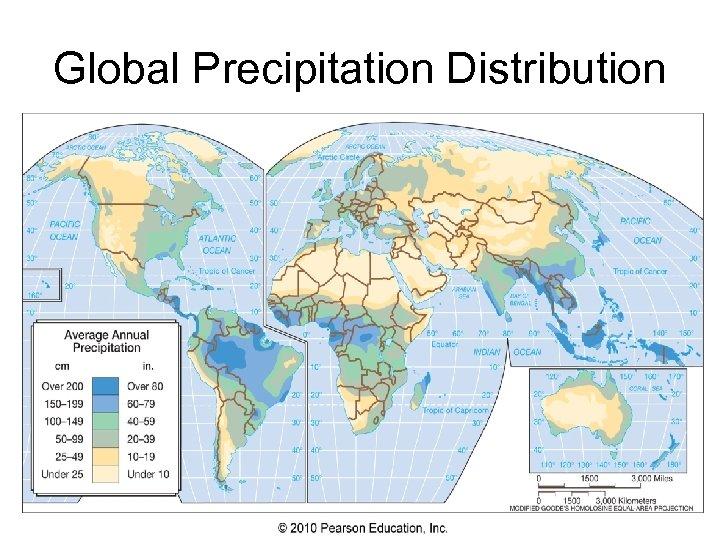 Global Precipitation Distribution