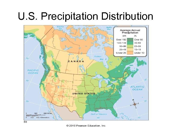 U. S. Precipitation Distribution