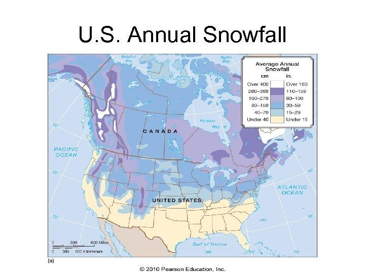 U. S. Annual Snowfall