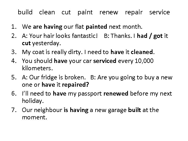 build clean cut paint renew repair service 1. We are having our flat painted