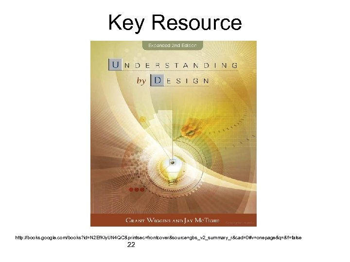 Key Resource http: //books. google. com/books? id=N 2 Ef. Kly. UN 4 QC&printsec=frontcover&source=gbs_v 2_summary_r&cad=0#v=onepage&q=&f=false