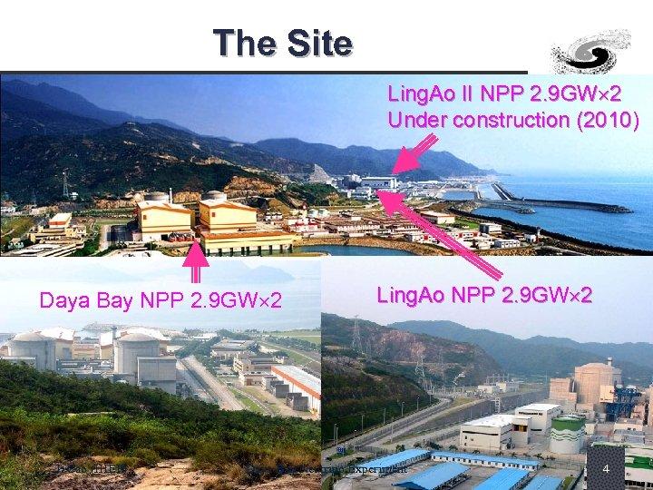 The Site Ling. Ao II NPP 2. 9 GW 2 Under construction (2010) Daya
